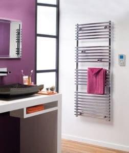 Ηλεκτρικές πετσετοκρεμάστρες μπάνιου Doris Chrome