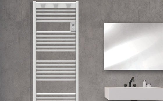 electric towel rail Doris digital